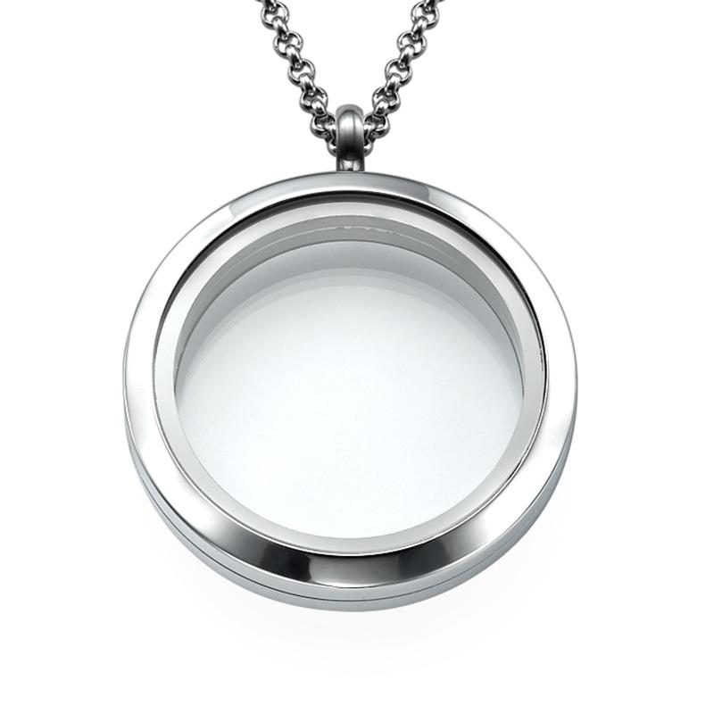 Silver Round Locket