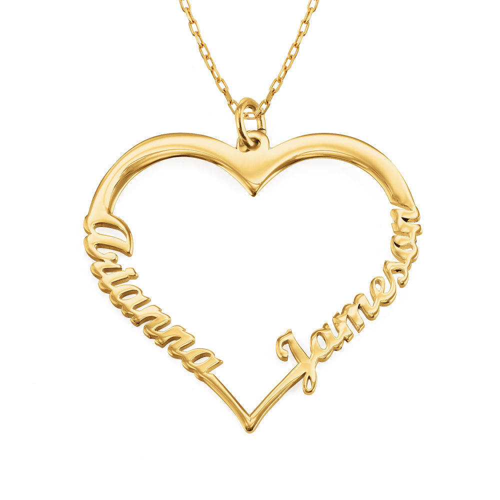 10ct Gold Heart Necklace