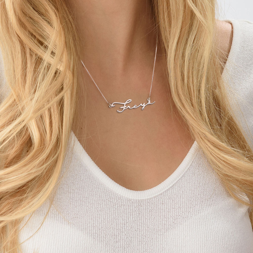Signature Style Name Necklace - Next Generation Collection - 4