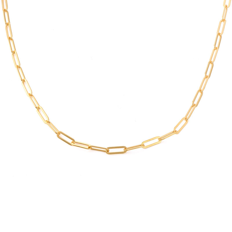 Chain Link Necklace in 18ct Gold Plating