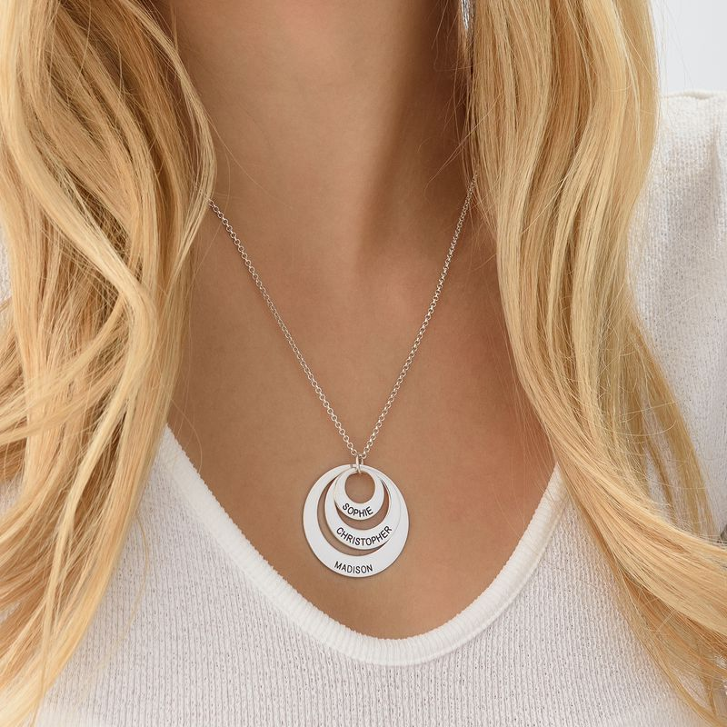Jewellery for Mums - Three Disc Necklace - 5