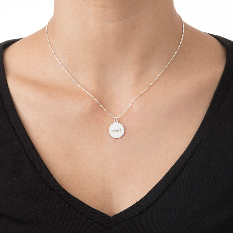 """Inspirational Gifts - """"Believe"""" Necklace - 1"""