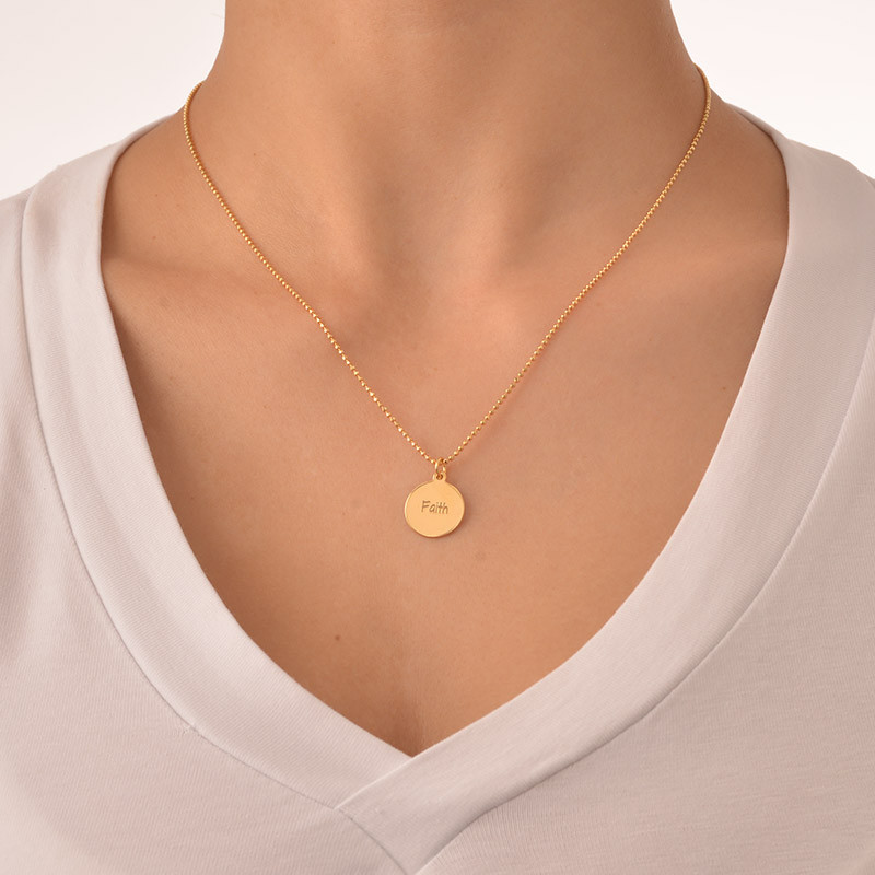 Faith Inspirational Necklace - 1