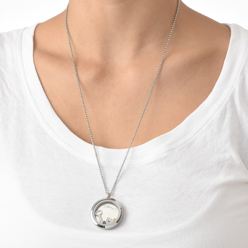 You Are the Key to My Heart Floating Locket - 4