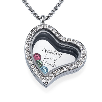 A Mothers Love Floating Locket - 1