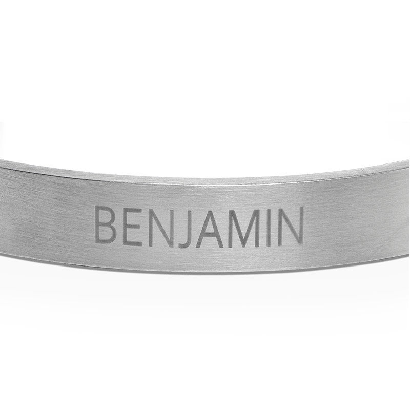 Stainless Steel Bangle for Men - 1
