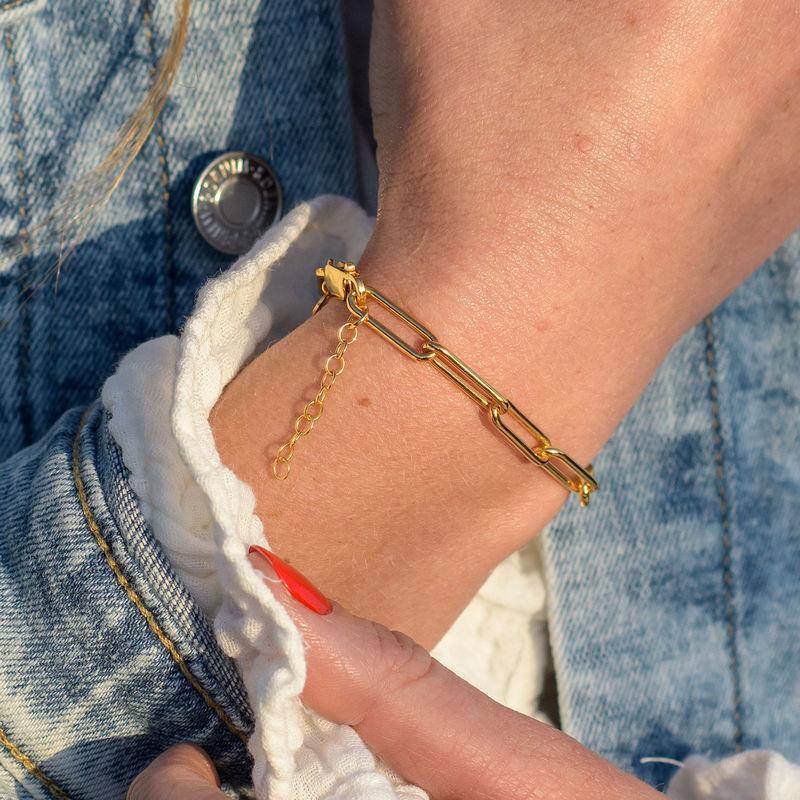 Chain Link Bracelet in 18ct Gold Vermeil - 2