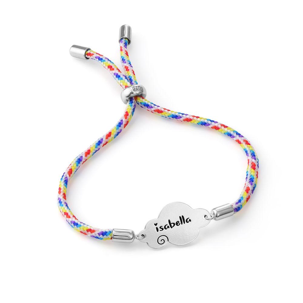 Cloud Cord Bracelet in Sterling Silver