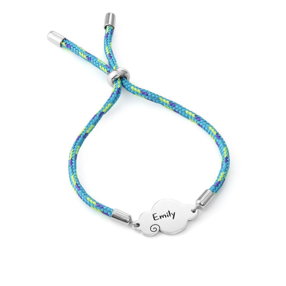 Cloud Cord Bracelet in Sterling Silver - 2