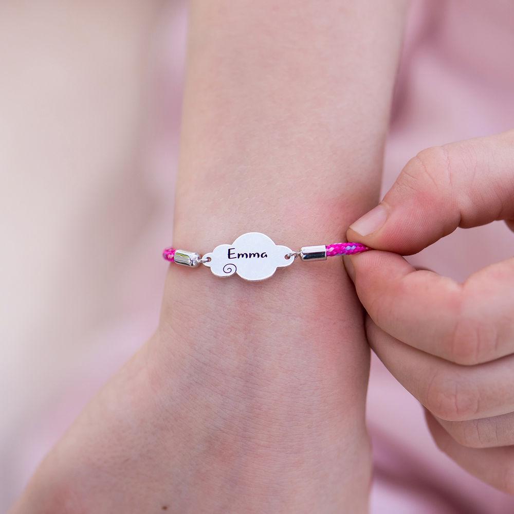 Cloud Cord Bracelet in Sterling Silver - 3