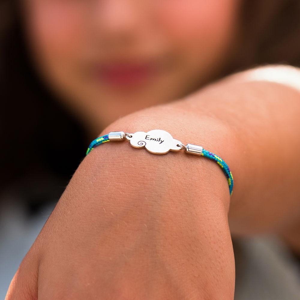 Cloud Cord Bracelet in Sterling Silver - 4