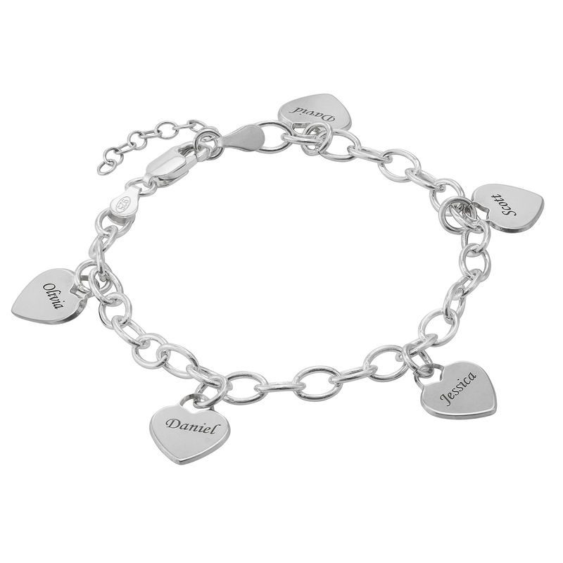 Mother's Personalised Charm Bracelet