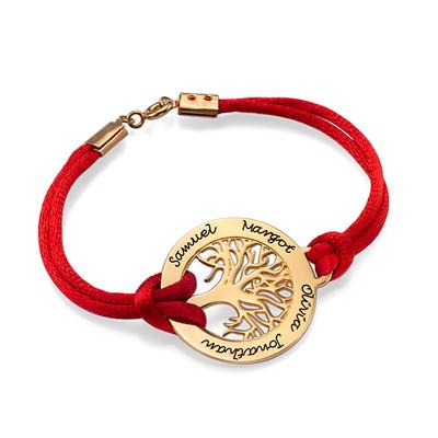 Family Tree Bracelet in 18ct Gold Plating