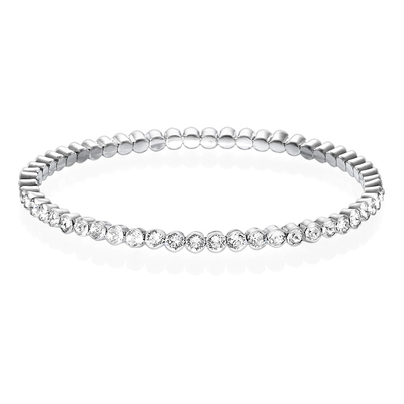 Tennis Bracelet with Crystals