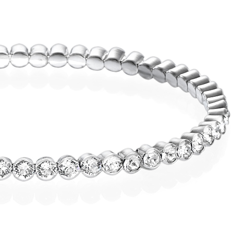 Tennis Bracelet with Crystals - 1