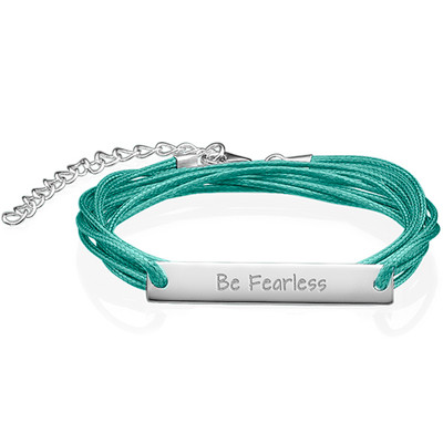 "Inspirational Gifts - ""Be Fearless"" Bracelet"