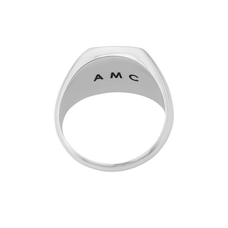 Custom Tiger Eye Signet Ring in Sterling Silver for Men - 2