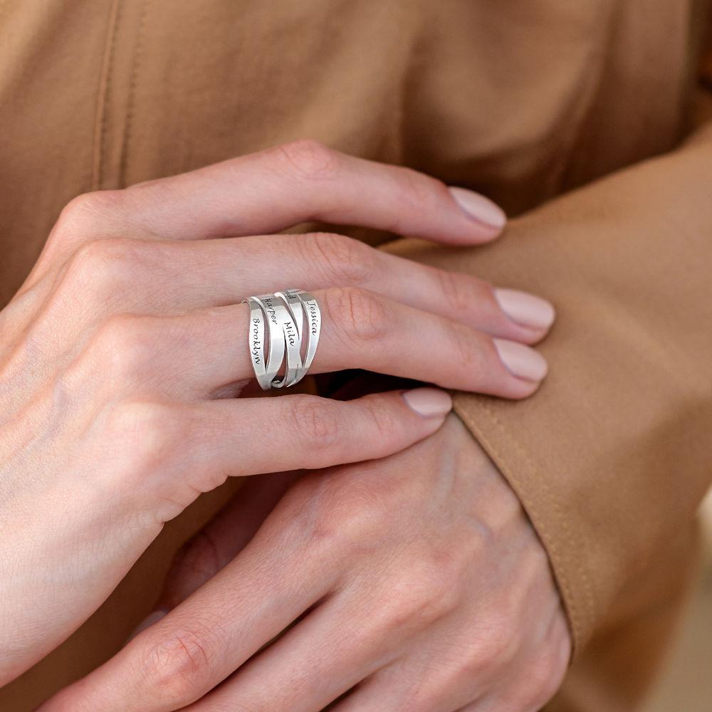 Margeaux Custom Ring in Sterling Silver - 5