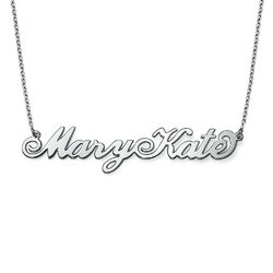 Two Capital Letters Carrie Name Necklace product photo