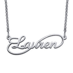 Signature Infinity Style Name Necklace product photo
