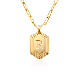 Cupola Link Chain Necklace in Vermeil product photo