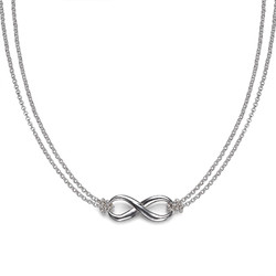 Sterling Silver Infinity Pendant product photo