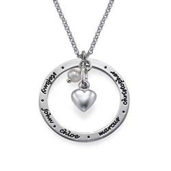 Personalised Mothers Jewellery in Silver product photo