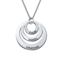 Jewellery for Mums - Three Disc Necklace product photo