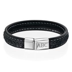Men's Bracelet with Initials product photo