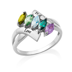Birthstone Ring for Mum product photo