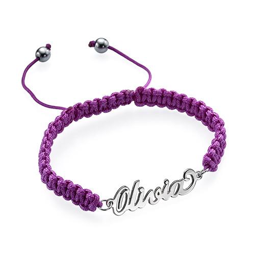 Cord Name Bracelet