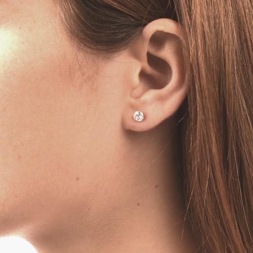 Cubic Zirconia Earrings - 1