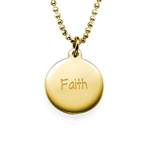 Faith Inspirational Necklace