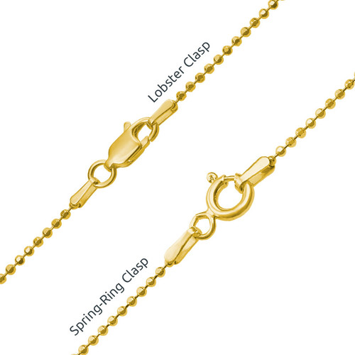 Heart Family Tree Necklace in 18ct Gold Plating - 2