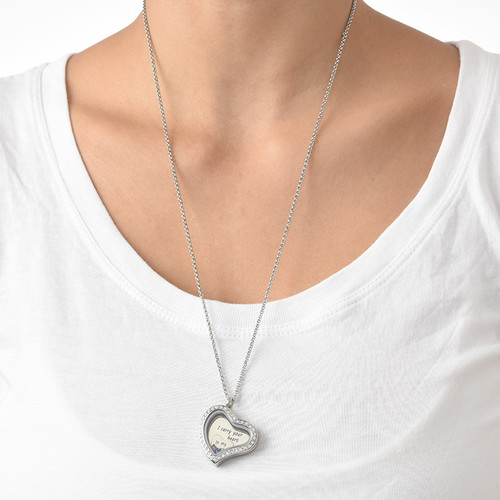 I Carry Your Heart Floating Locket - 4