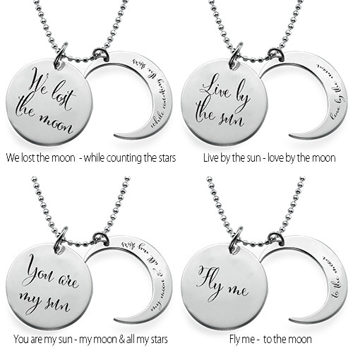 I Love You to the Moon and Back Necklace - 2