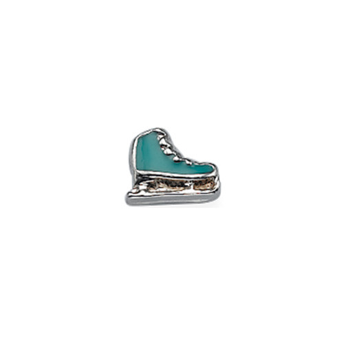 Ice Skates Charm for Floating Locket