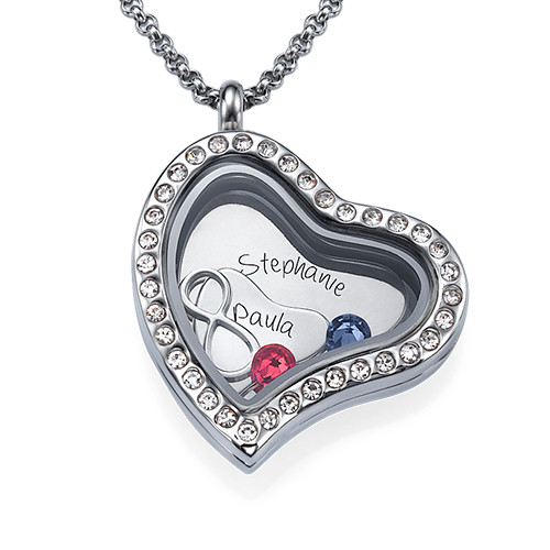 Infinite Love Floating Locket - 1