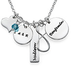 Infinity Charm Necklace for Mums
