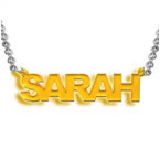 L.A. Style Colour Name Necklace