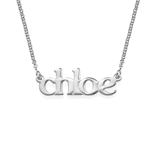 Lowercase Name Necklace