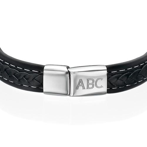 Men's Bracelet with Initials - 1