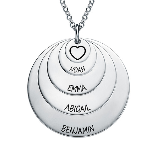 Mother 5 Discs Necklace