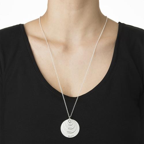 Mother 5 Discs Necklace - 2