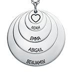 Mother 5 Discs Necklace