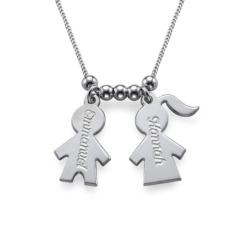 Mothers Day Jewellery - Necklace with Kids Charms