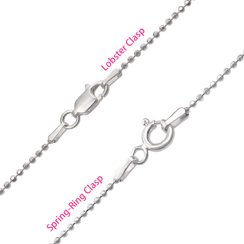 Multi Layered Sterling Silver Family Tree Necklace - 3