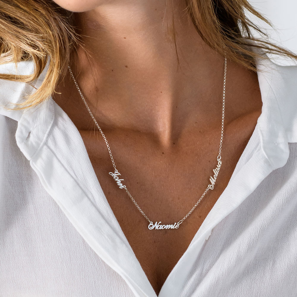 Multiple Name Necklace - 2