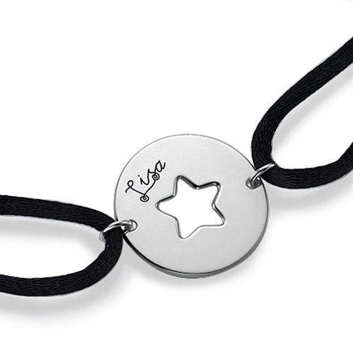 Personalised Cut Out Star Bracelet - 1