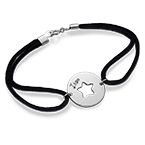 Personalised Cut Out Star Bracelet